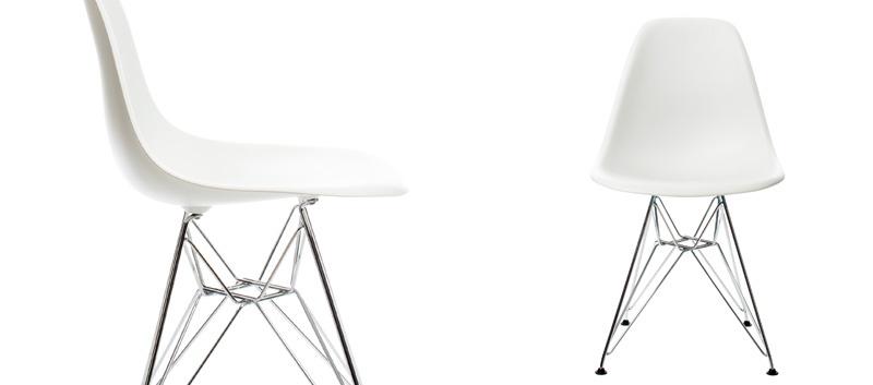 red orange shop vitra eames plastic chair dsr. Black Bedroom Furniture Sets. Home Design Ideas